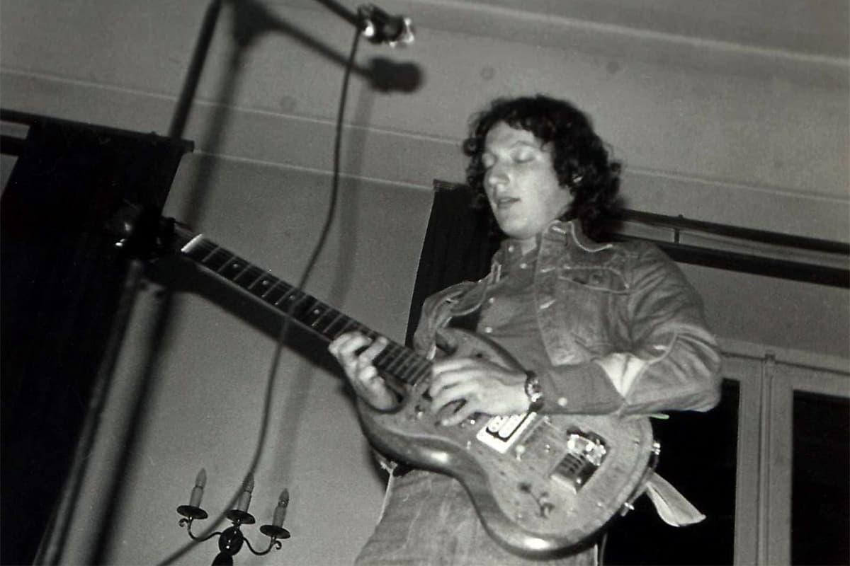 Pierre Schott en concert avec High and Dry