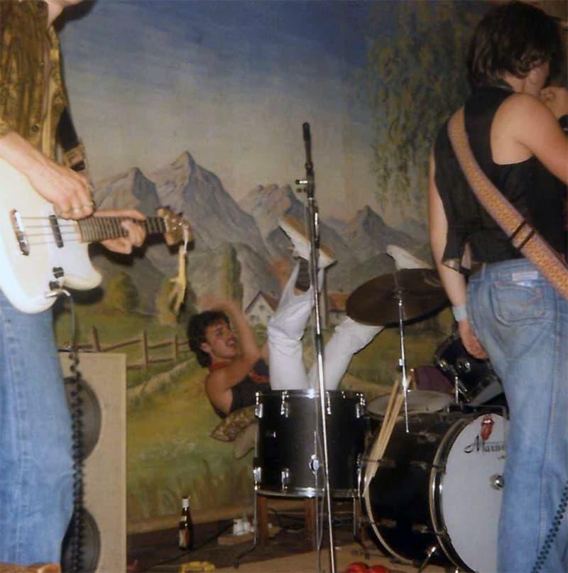 Christian Fougeron en concert avec High and Dry