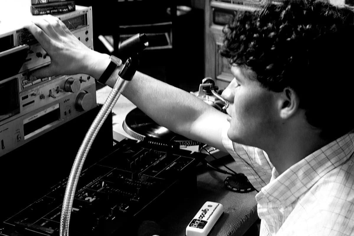 Studio de la radio Canal 15
