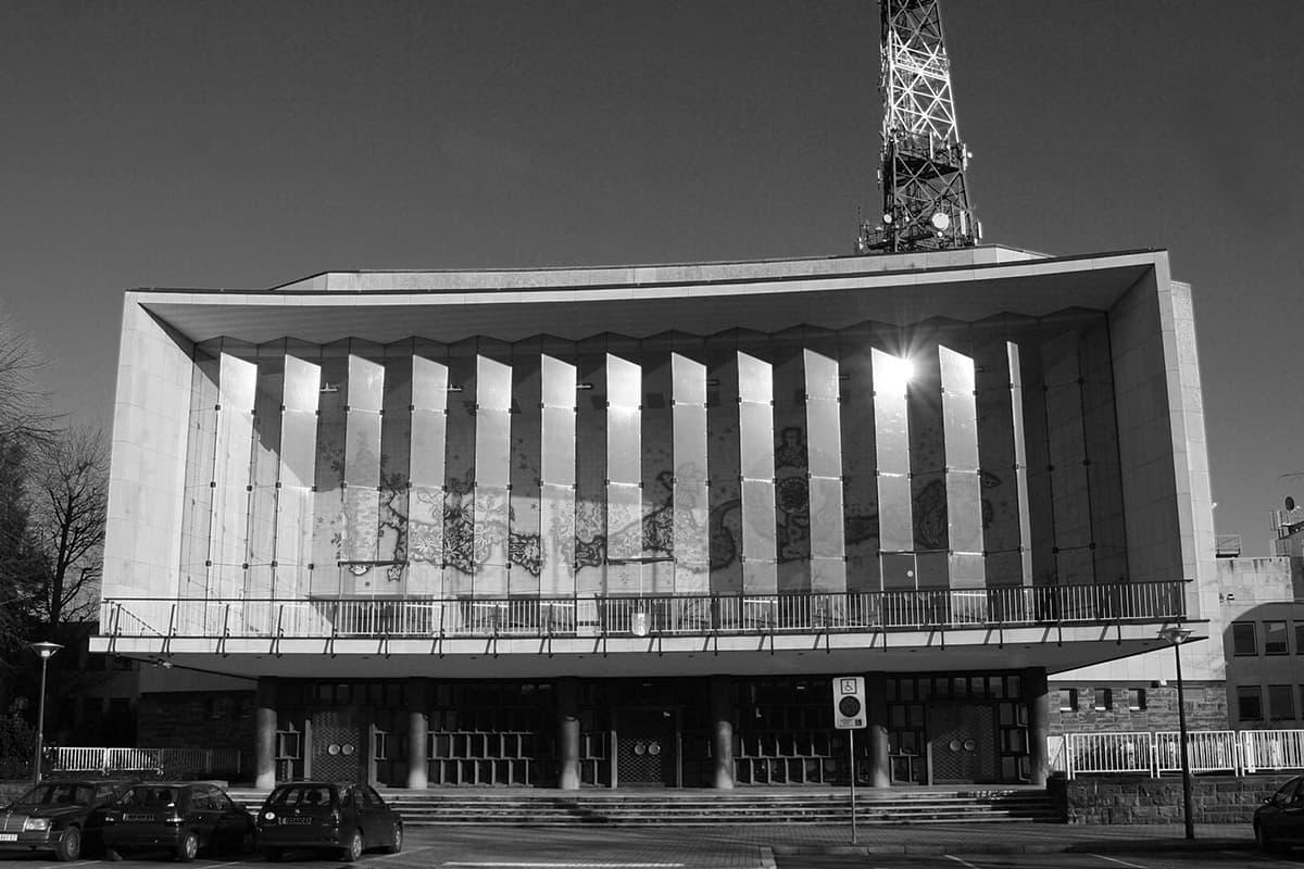 L'auditorium de FR3 Alsace à Strasbourg